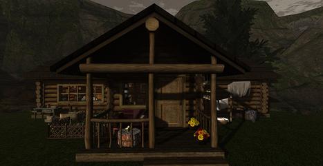 Rustic Mountain Lodge   SL Homes & Gardens Scoop   Scoop.it