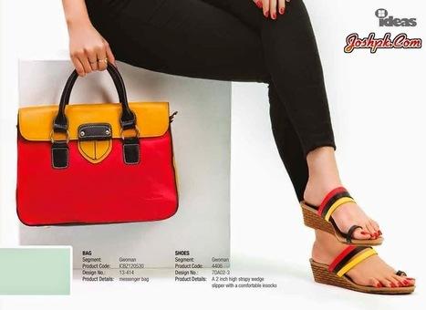 Ideas By Gul Ahmed Footwear HandBags Collection 2014   joshpk   Scoop.it