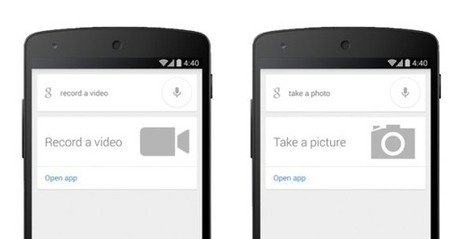 Google Search now accepts commands to take a photo or a video | Intresting | Scoop.it