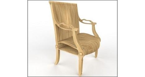 Le fauteuil « Louis XVI is back » par le designer français Thomas de Lussac pour PercheBois | Info-Luxe | Développement Economique Eure-et-Loir | Scoop.it
