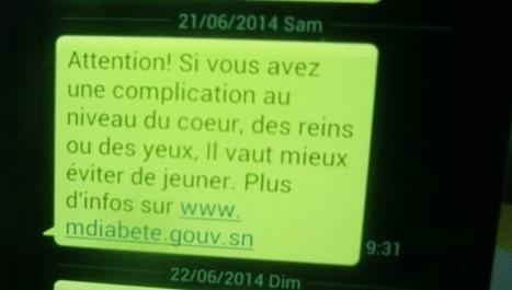 Diabète : Des messages SMS pour mieux suivre le jeûne du ramadan | Services mobiles et SMS | Scoop.it