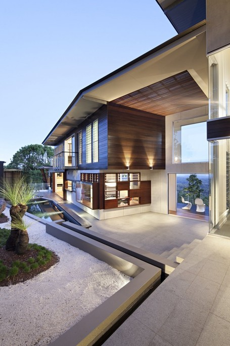 Glass House by Bark Design Architects in Maleny, Australia | Ma Maison Idéale | Scoop.it