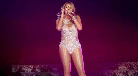 Photos : Mariah Carey ultra sexy en porte jarretelles en boîte de nuit | Radio Planète-Eléa | Scoop.it