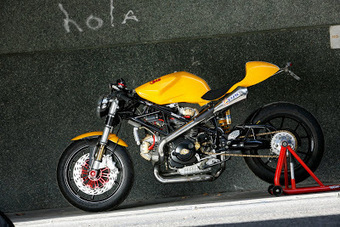 Radical Ducati S.L.: RAD02 CAFE RACER (2005) | Motorcycle World | Scoop.it