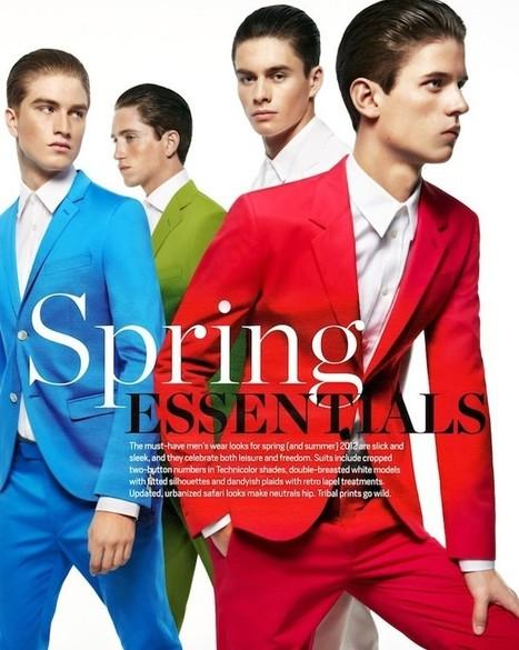 Menswear Spring Essentials by Kai Z Feng   Homotography   Menswear NYFW   Scoop.it