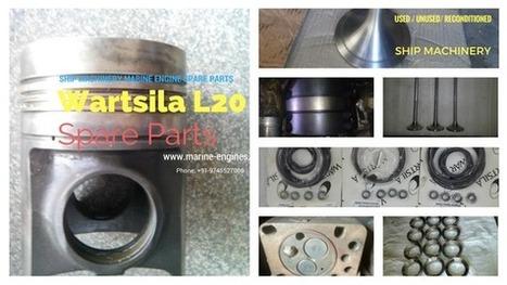 Wartsila L20 Parts | Marine Engines Motors and generators | Scoop.it