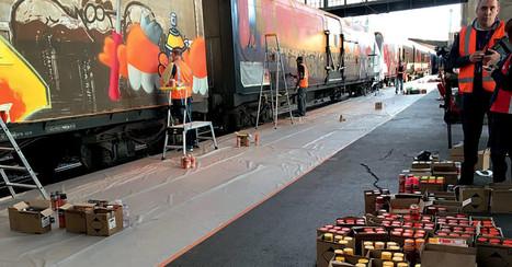 Street art Le train de fret le plus beau de France ? | Inspiration et créativité | Scoop.it