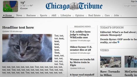 The Chicago Tribune Has Made the Best Internet Mistake of the Day - and, It's Not Even Caturday Yet | Back Chat | Scoop.it