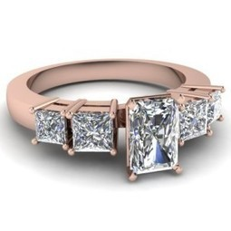 Radiant-Cut vs. Princess-Cut Diamonds: What Is the Difference? | Diamonds, Gold & Jewellery | Scoop.it