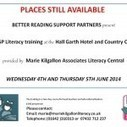 PLACES STILL AVAILABLE - BETTER READING SUPPORT PARTNERS TRAINING - Marie Kilgallon Associates Ltd | Phonics education | Scoop.it