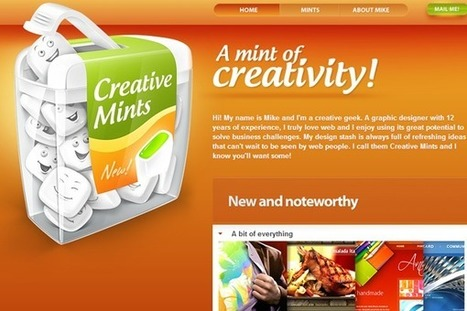 33 Brilliant Orange Websites for Design Inspiration | Webdesign Glance | Scoop.it