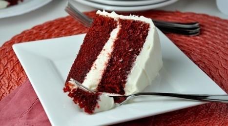 Purple Velvet Cake with Vanilla Cream   Dessert Inventions   How to Make Cup Cakes   Scoop.it