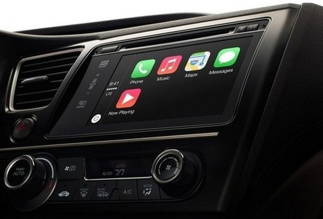 CarPlay, Apple e iOS llegan a los coches con un sistema multimedia - Actualidad Motor | MUNDOAUDIOVISUAL | Scoop.it