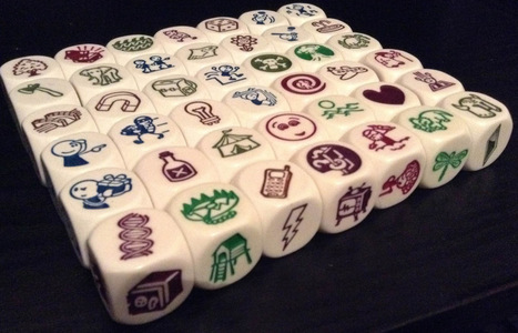 Story cubes - Circle writing with narrative tenses | Get that extra help | Scoop.it