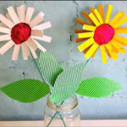 Make your own card flowers | scapbooking | Scoop.it