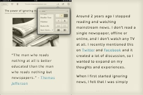 Instapaper App Updated With Dyslexia-Friendly Font | Assistive Technology (ATA) | Scoop.it