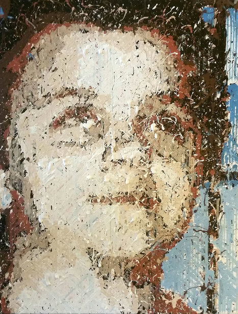 Ce robot réalise des peintures dignes des plus grands artistes | Une nouvelle civilisation de Robots | Scoop.it