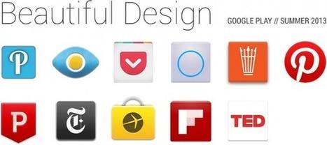 Play Store : Google met en avant les belles apps Android | JMO's mobility highlights | Scoop.it