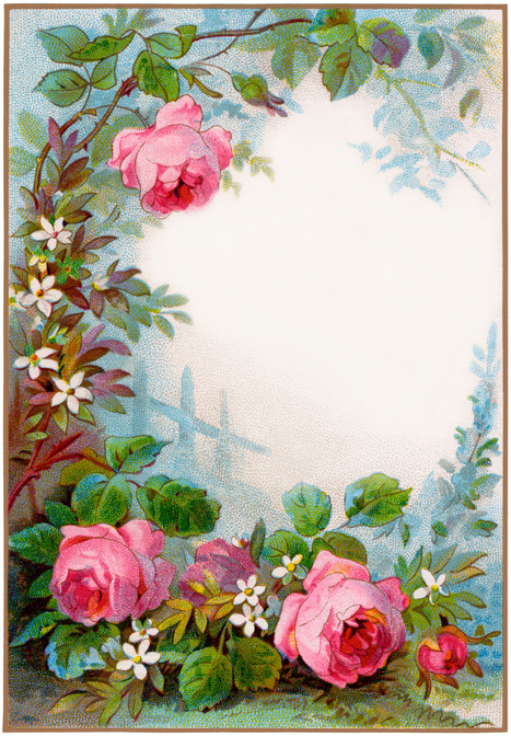 Amzingly Rich & Free Collection of Clip Art Borders & Frames | post cards or greeting cards | Scoop.it