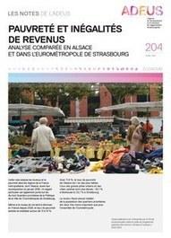 Strasbourg : pauvreté et inégalités de revenus   Dernières publications des agences d'urbanisme   Scoop.it