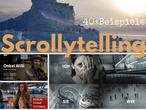 Longform, Web-Reportage, Multimedia-Storytelling, Scrollytelling: Die ultimative Liste mit 40+ Beispielen | Mediaclub | Scoop.it