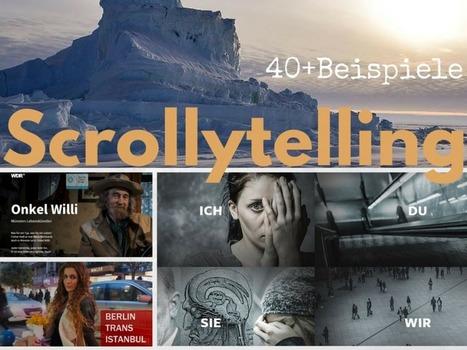 Longform, Web-Reportage, Multimedia-Storytelling, Scrollytelling: Die ultimative Liste mit 40+ Beispielen | Mediaclub | Scoop.it