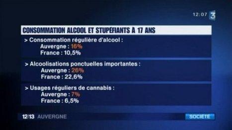 """""""En Auvergne, on a quelques chiffres inquiétants, notamment en terme de consommation excessive d'alcool""""   Culture Mission Locale   Scoop.it"""