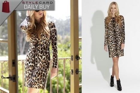Daily Buy: Long Sleeve Cheetah Dress   StyleCard Fashion Portal   StyleCard Fashion   Scoop.it