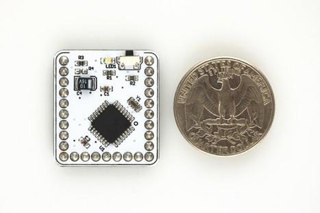 Microduino: An Arduino clone nearly as small as a quarter, for $20   RaspberryPi   Scoop.it