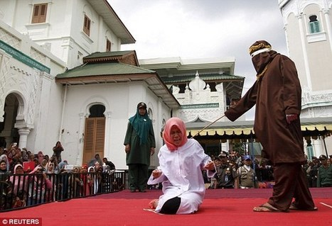 Woman is caned for being 'close' to a man she was not married | The Pulp Ark Gazette | Scoop.it
