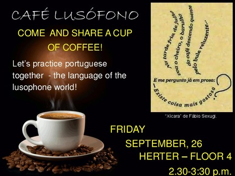 Café Lusófono | The UMass Amherst Spanish & Portuguese Program Newsletter | Scoop.it