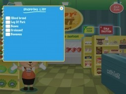 Practicing Life Skills with Apps: The Shopping Cart Game | Communication and Autism | Scoop.it
