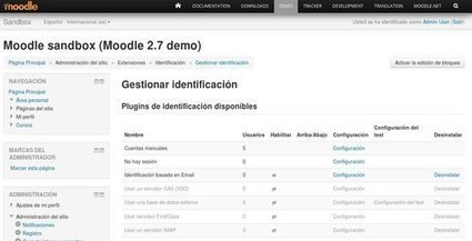 Moodle, gestion de Extensiones. Elearning | Educación Virtual UNET | Scoop.it