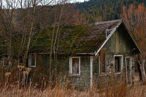 Abandoned Shack near Coeur d'Alene, Idaho   Abandoned Places   Scoop.it