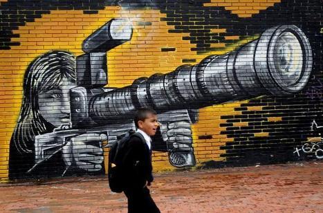 Bogotá, un gran museo de arte urbano que llama a la reflexión social (Fotos)   Contemporary Art   Scoop.it