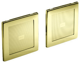 KOHLER K-8033-AF SoundTile speakers (pair of speakers) in Vibrant French Gold - contemporary - bath products - by PlumbingDepot | Good Vibes | Scoop.it