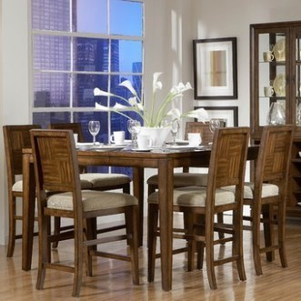 Homelegance Campton 5 Piece Counter Height Dining Collection | Home & Garden | Scoop.it