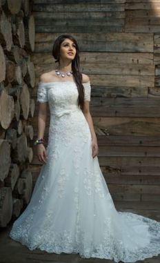Sexy Strapless Tafetta Organza Designer Wedding Ball Gown | Wedding Accessories | Scoop.it