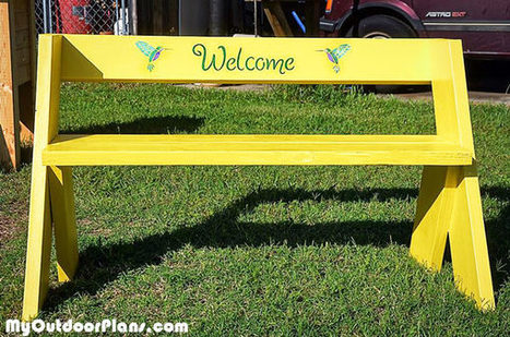 DIY Leopold Bench | MyOutdoorPlans | Free Woodworking Plans and Projects, DIY Shed, Wooden Playhouse, Pergola, Bbq | Garden Plans | Scoop.it