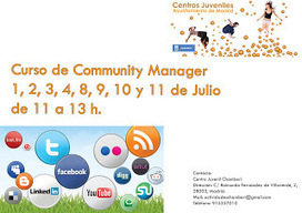 Quieres convertirte en Community Manager? - Centros Juveniles ... | social media | Scoop.it