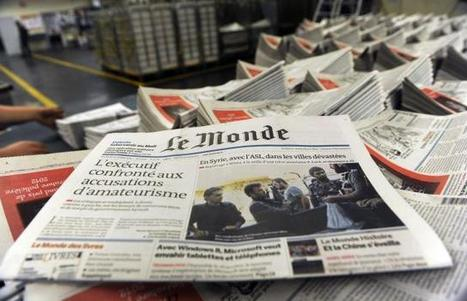 Médias. « Le Monde » compte fermer son imprimerie d'Ivry en 2015 | Tourisme vert | Scoop.it