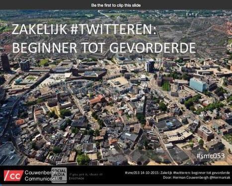 [Event] @Hermaniak spreekt over zakelijk Twitteren tijdens #SMC053 #verslag - Nieuws.Social: Social Media Marketing: presentaties, onderzoek, cijfers, trends en meer | Rwh_at | Scoop.it