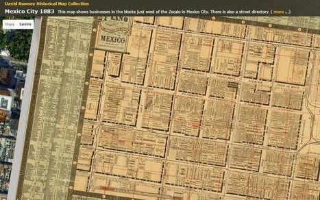 Impresionante colección online con 69000 mapas históricos   Educativas   Scoop.it