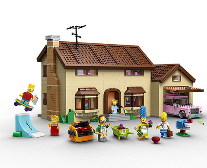 LEGO The Simpsons House (71006) Officially Revealed | The Brick Fan | Scoop.it