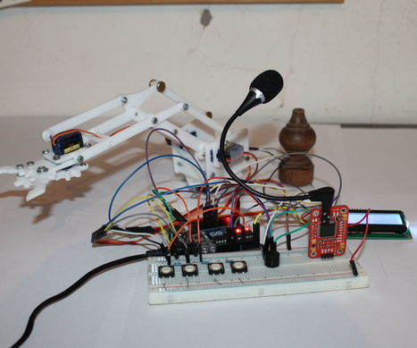 Arduino - Voice Control with VRM v2 | Raspberry Pi | Scoop.it
