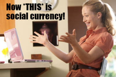 Now this is social currency! | funny-marketing-ads | Scoop.it