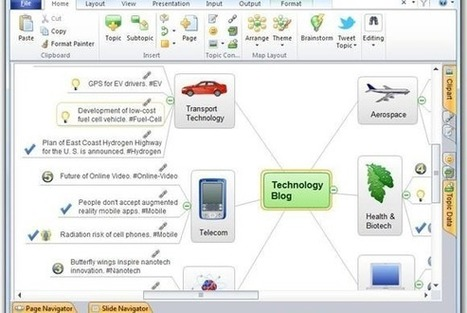 Review: ConceptDraw Mindmap helps businesses brainstorm, create, and present mind maps | PCWorld | Mapping | Scoop.it