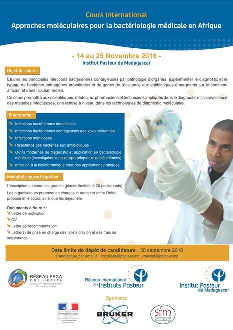 Approches moléculaires pour la bactériologie médicale en Afrique - Institut Pasteur de Madagascar | Institut Pasteur de Tunis-معهد باستور تونس | Scoop.it
