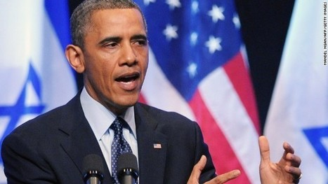 Obama: 'Peace is possible,' but see the world as Palestinians do | Government and law current events 3c | Scoop.it