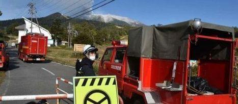 Éruption volcanique au Japon : plus de 40 blessés, les secours s'activent | Japan Tsunami | Scoop.it